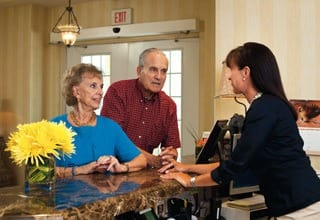 Rainbow City senior living has concierge service