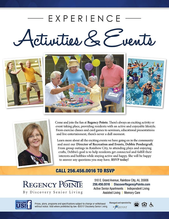 Experience Activities & Events