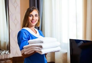 Senior living in Rainbow City has housekeeping service