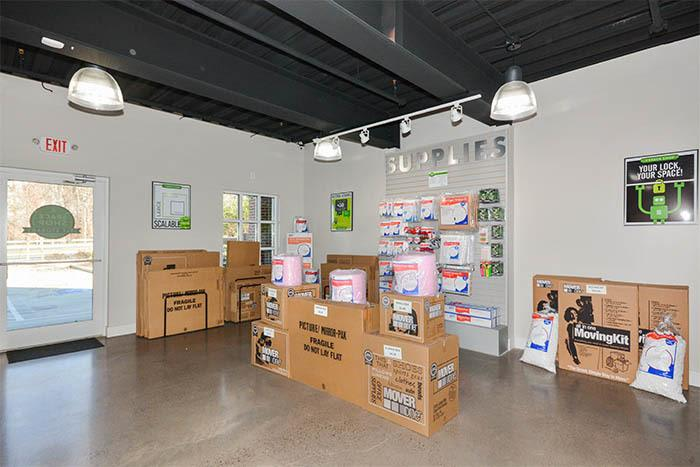 Moving supplies at Space Shop Self Storage in Marietta