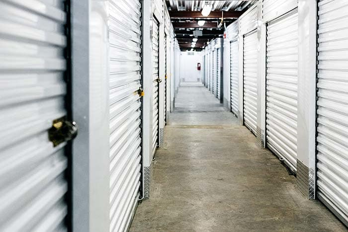 Interior Storage Units At Space Shop Self Storage