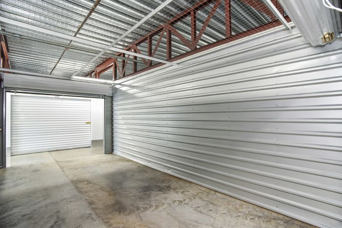 Large interior units at Space Shop Self Storage