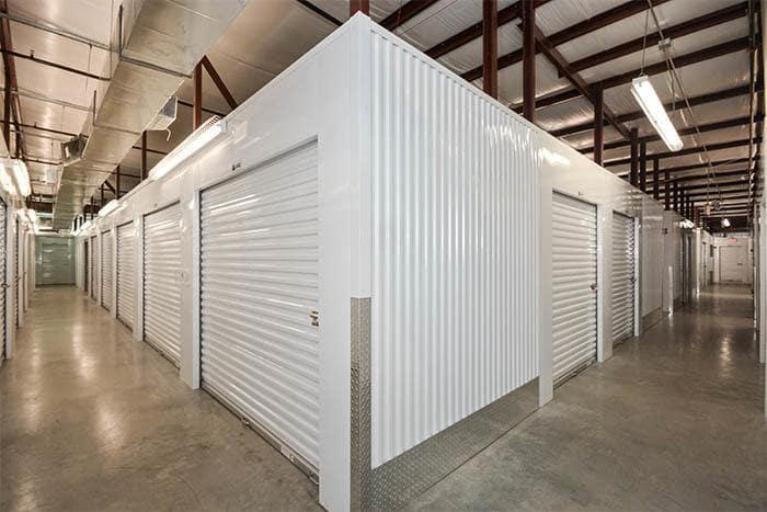 Interior Storage Units At Space Shop Self Storage