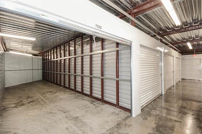 Interior Storage Unit At Space Shop Self Storage
