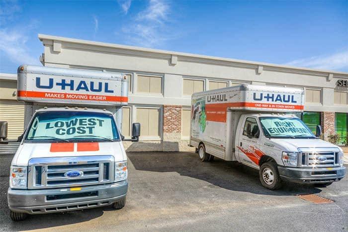 Space Shop Self Storage Moving Trucks