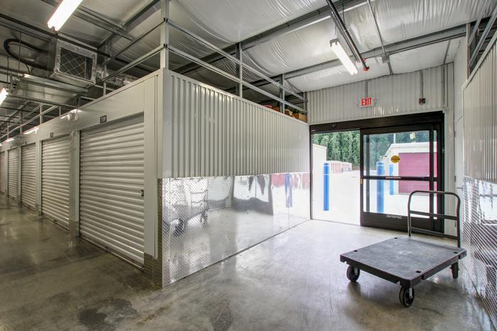 Interior Storage Entry at Space Shop Self Storage in Acworth
