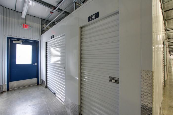 Internal Storage Exit at Space Shop Self Storage in Acworth