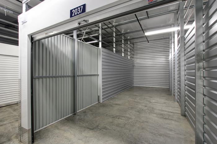 Internal Storage Big at Space Shop Self Storage in Acworth