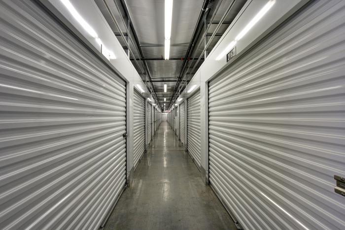 Internal Storage Passage 2 at Space Shop Self Storage in Acworth