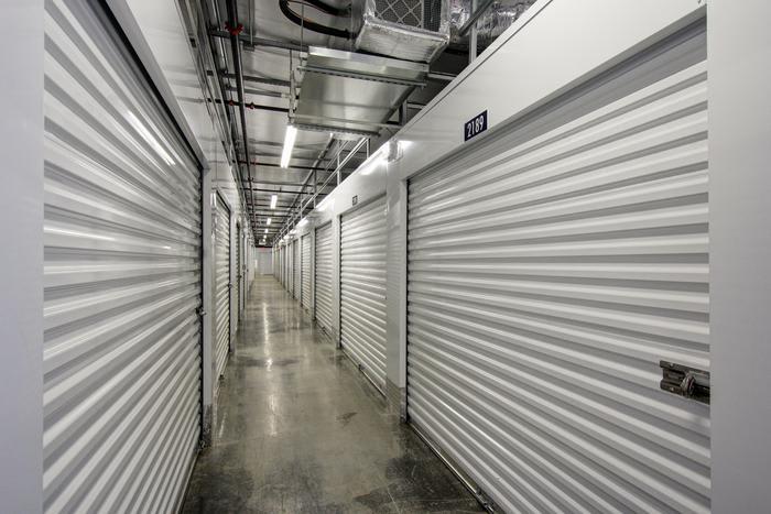 Internal Storage Passage at Space Shop Self Storage in Acworth
