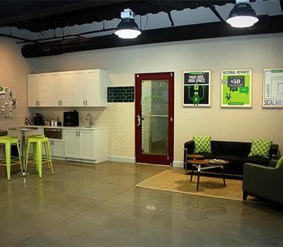Office area at Space Shop Self Storage in Atlanta