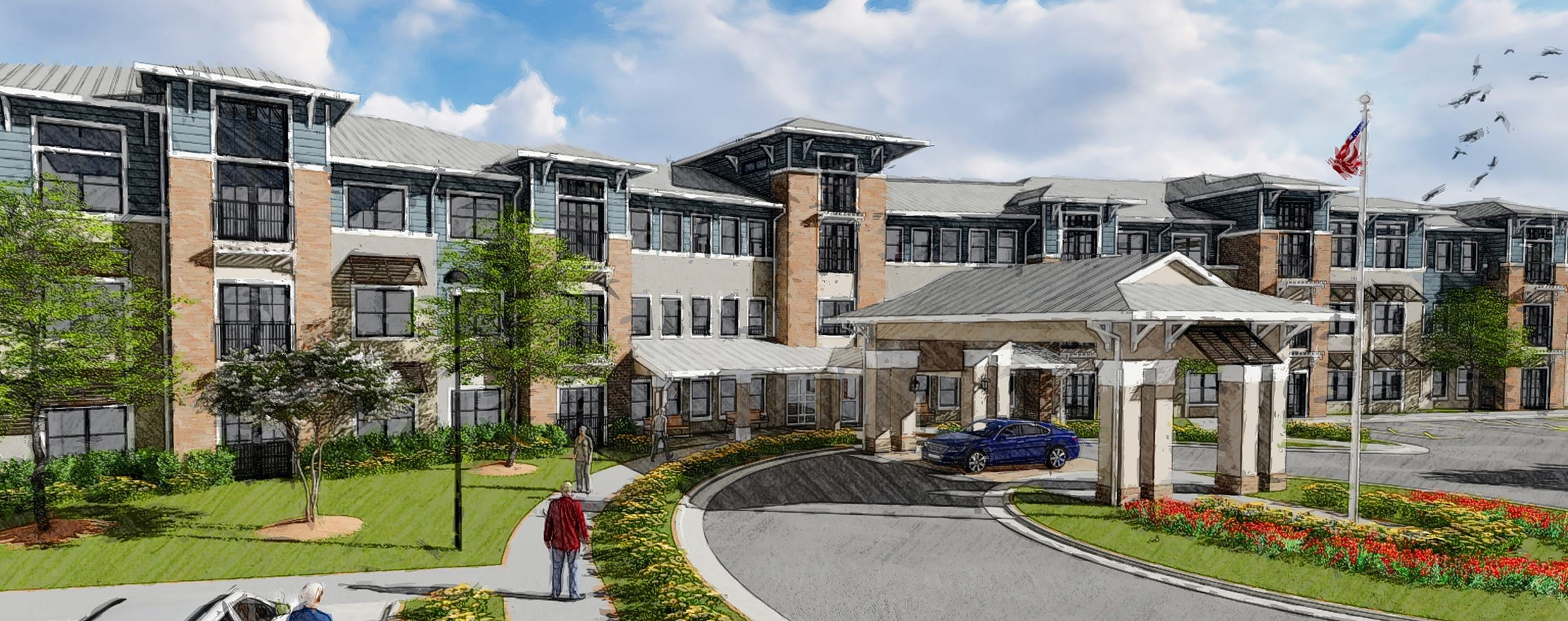 Request a Jacksonville senior living facility brochure