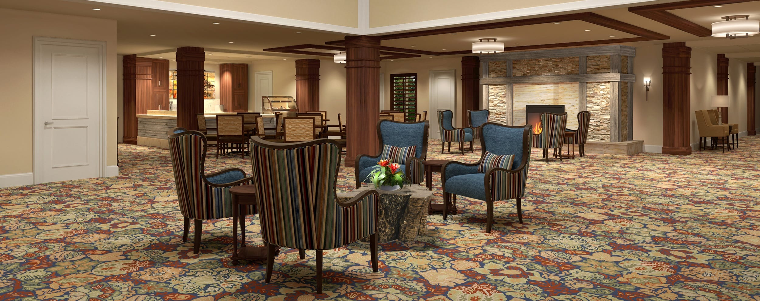 Levels of Senior Living care at senior living in Long Grove