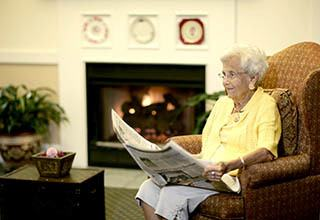 Senior living newsletter and calendar in Shorewood