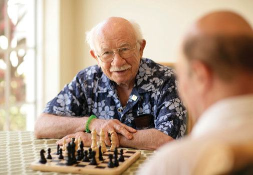 Find new friends at senior living in Sarasota