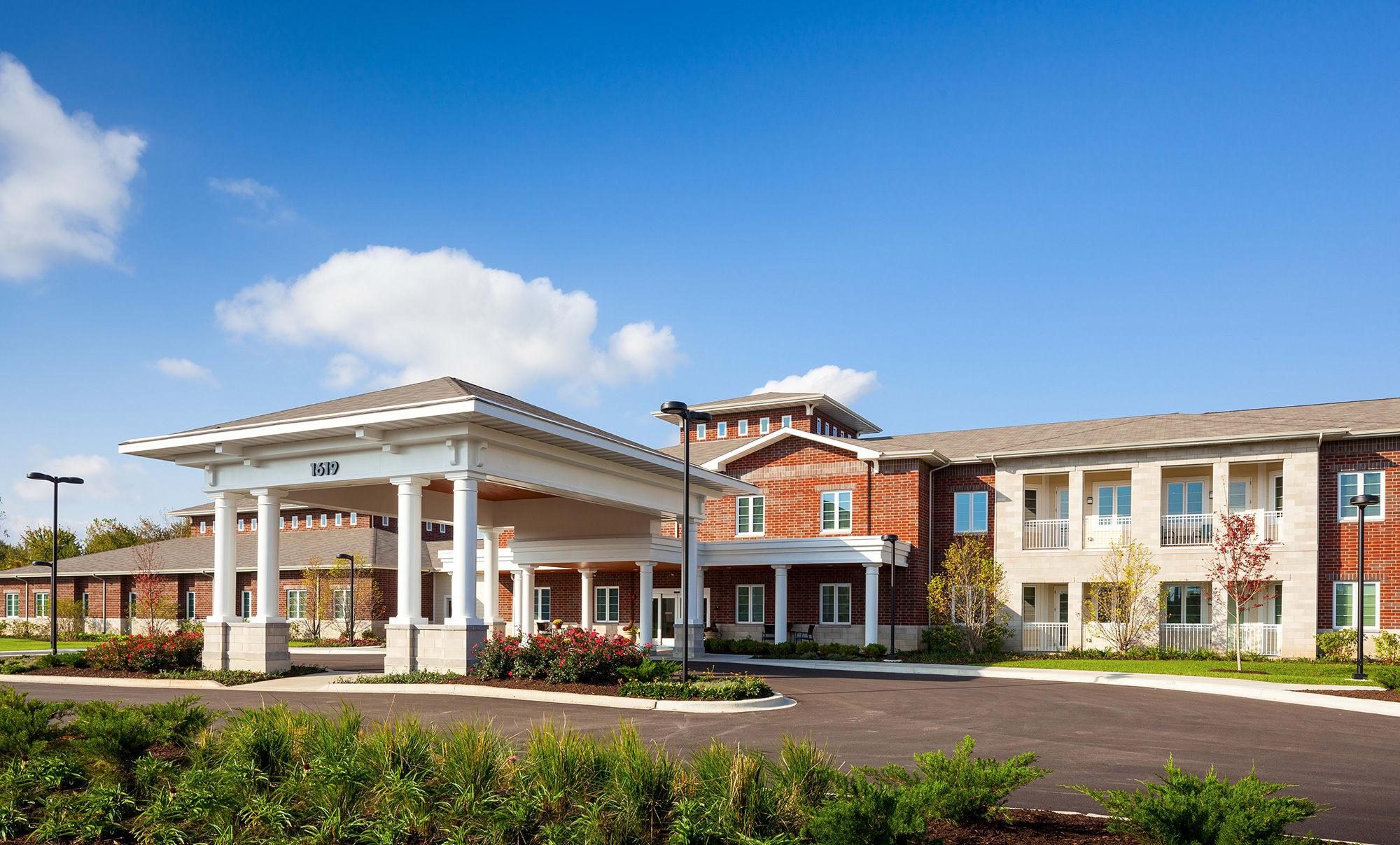 Exquisite senior living facility located in Naperville