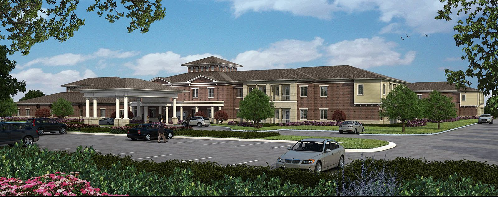 Floor plans at senior living in Naperville
