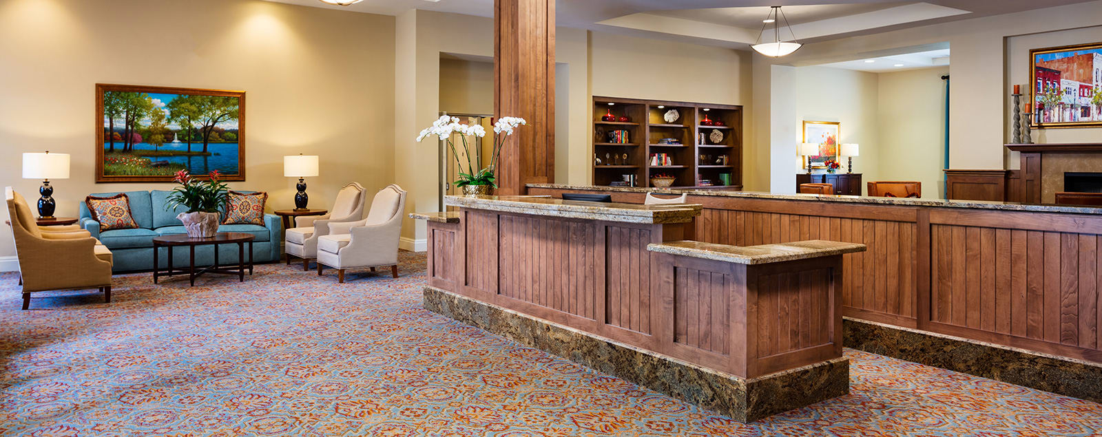 Schedule a senior living tour in McKinney