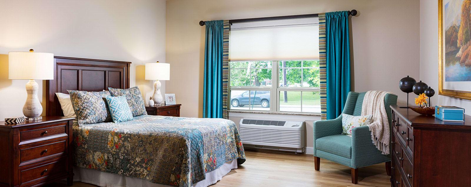 Floor plans at senior living in McKinney