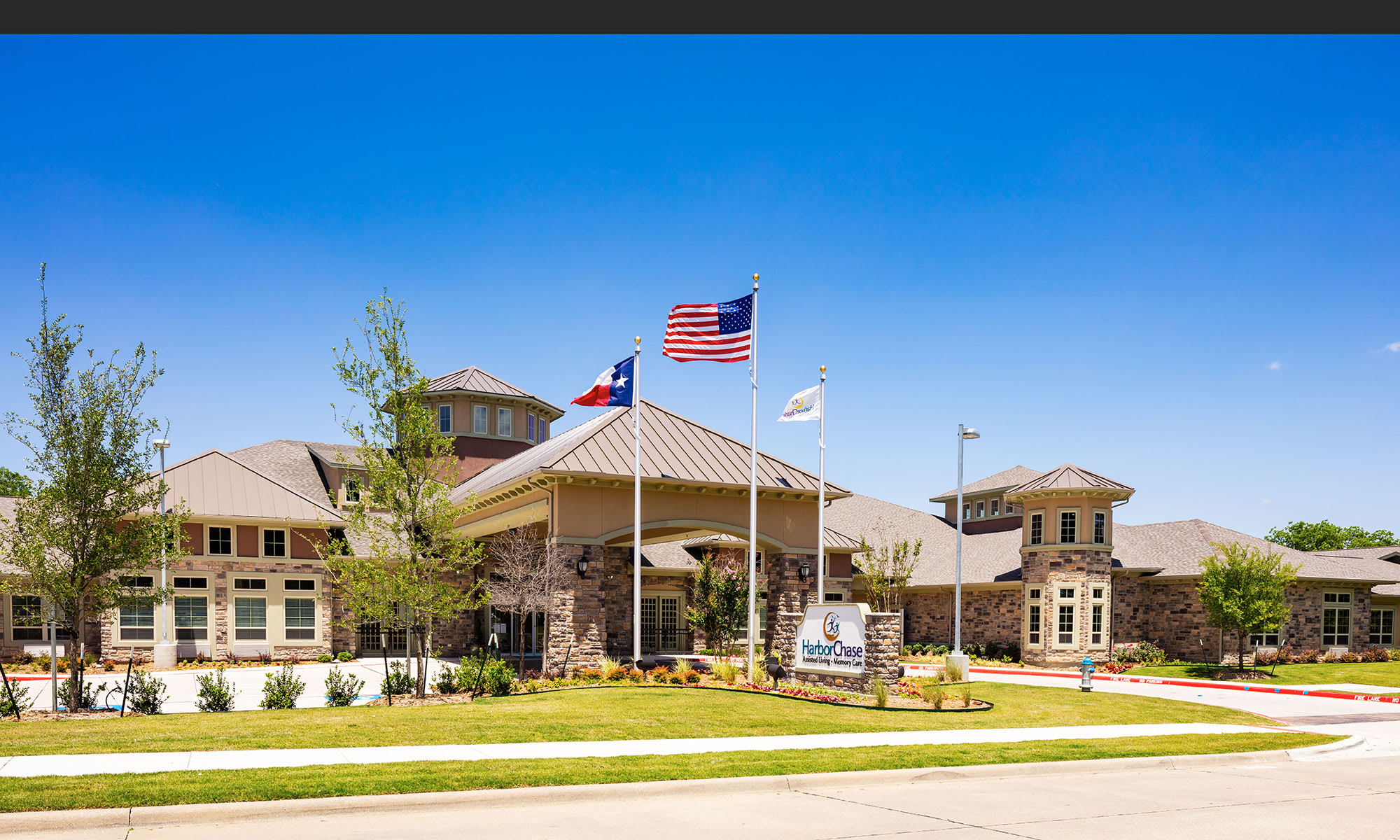 Exquisite senior living facility located in McKinney