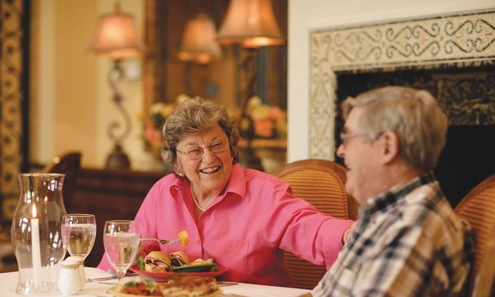 Exquisite senior living facility located in Palm Beach Gardens