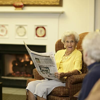 Find out about our senior living activities in Naperville