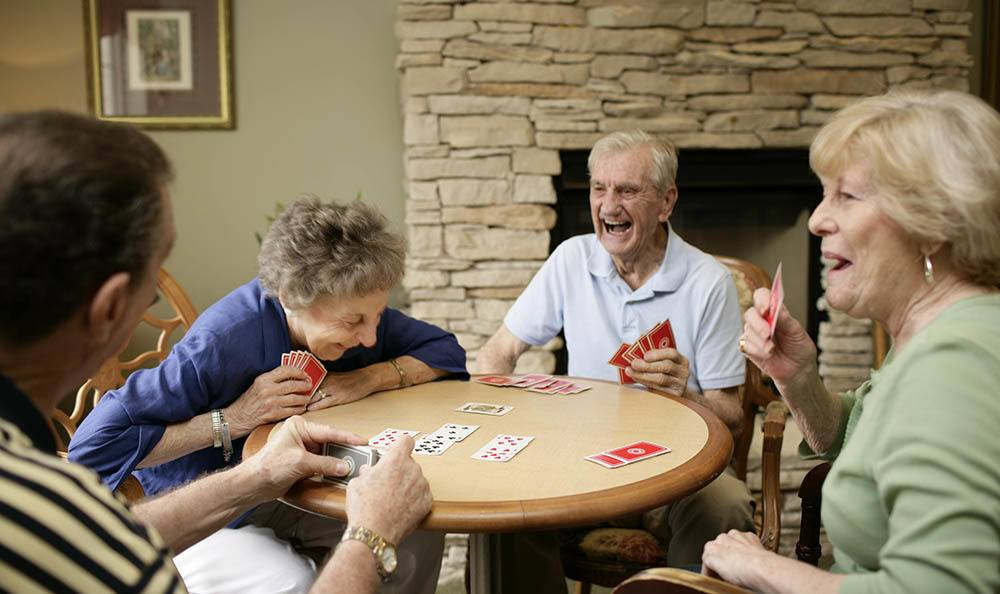 Make new friends every day at our Huntsville senior living facility
