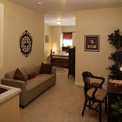 Floor plan view of our available senior living units in Huntsville