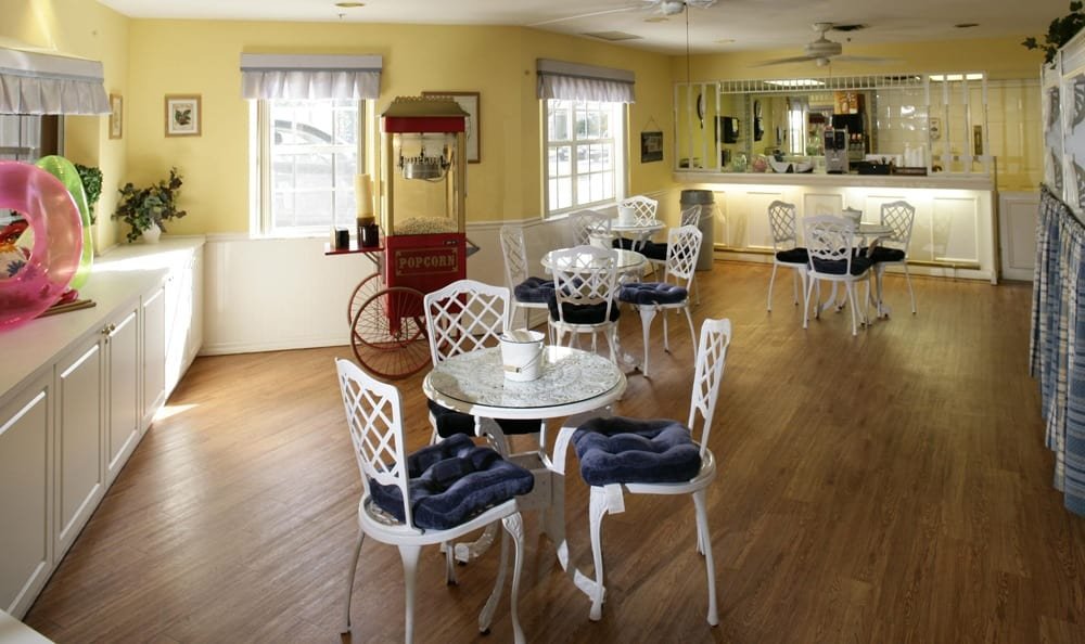 Cafe at our senior living facility in Palm Harbor