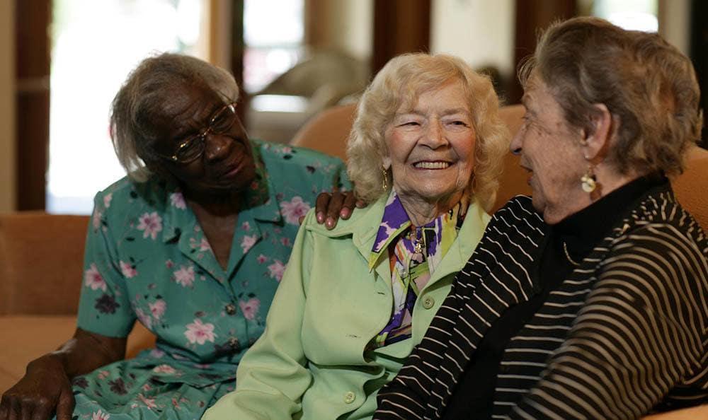 Senior living friends in Auburn Hills