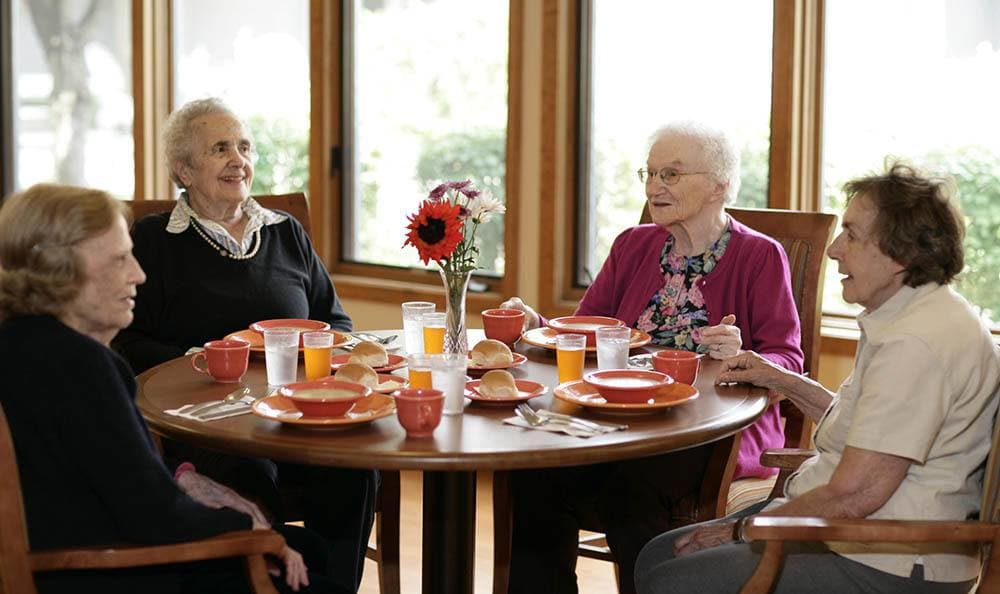 Gather with your friends at our senior living facility in Auburn Hills
