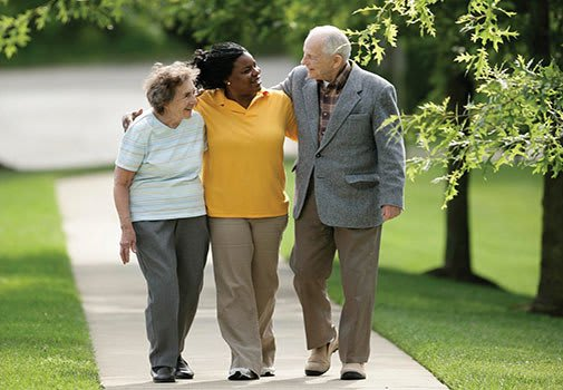 Find new friends at senior living in Plainfield