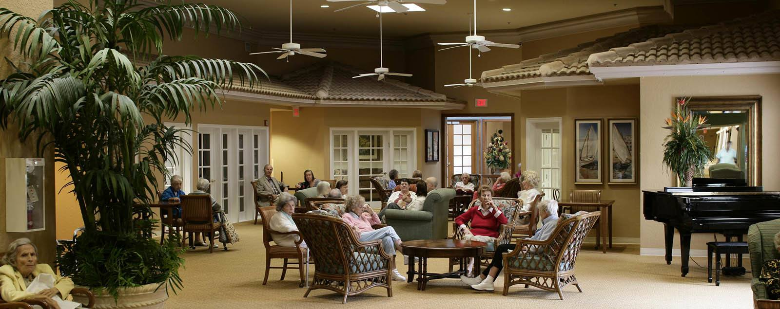 Floor plans at senior living in Tamarac