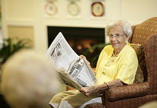 Senior living newsletter and calendar in Tamarac