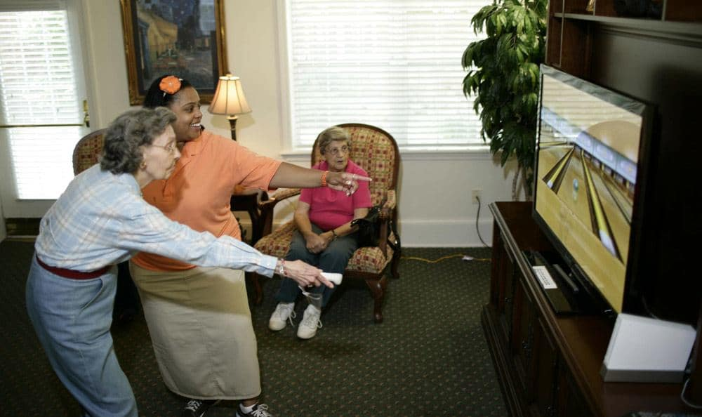Our Columbia senior living facility has fun areas to spend time with your friends and family