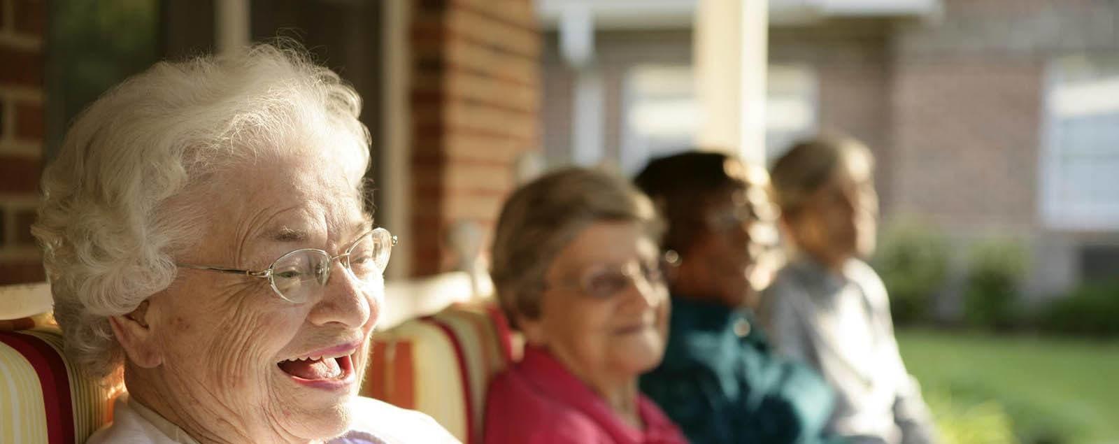 Levels of Senior Living care at senior living in Columbia