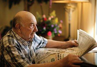 Senior living newsletter and calendar in Jasper