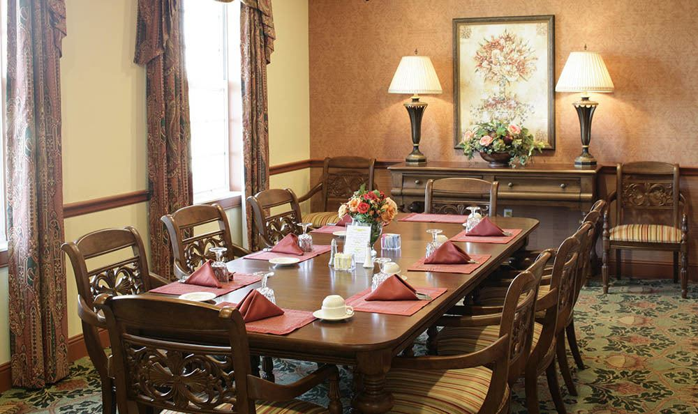 Group dining room at Regency Park