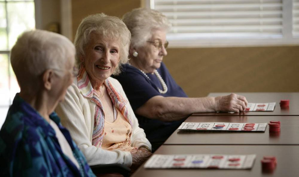 Enjoy exciting games at our senior living facility in Venice