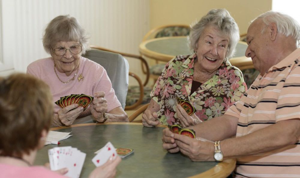 Enjoy a variety of fun activities our senior living facility bedroom in Naples