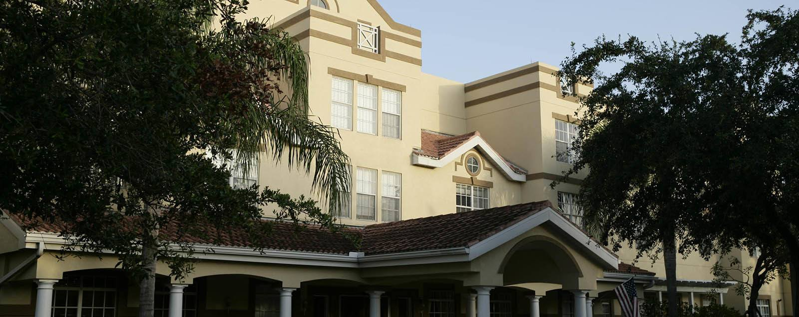 Levels of Senior Living care at senior living in Naples