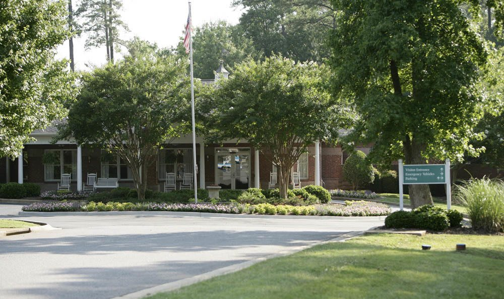 Entrance of our senior living facility in Rock Hill