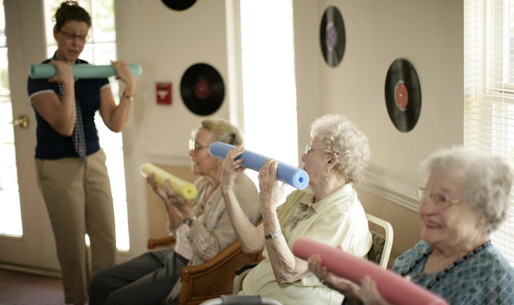Our Rock Hill senior living facility has fun activities to do to better your health