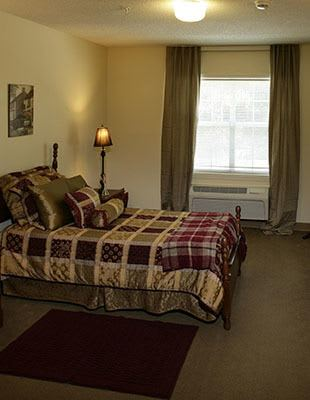 Floor plan view of our available senior living units in Rock Hill