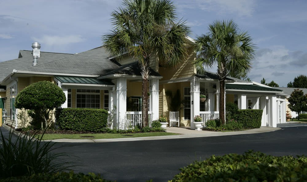 Exterior of our senior living facility in Gainesville