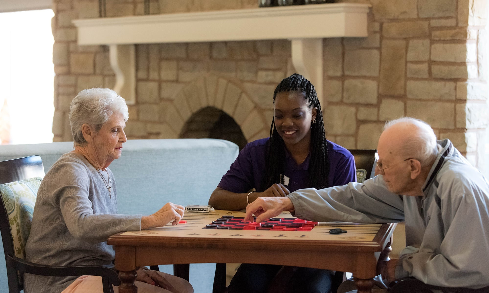 Exquisite senior living facility located in Sterling Heights