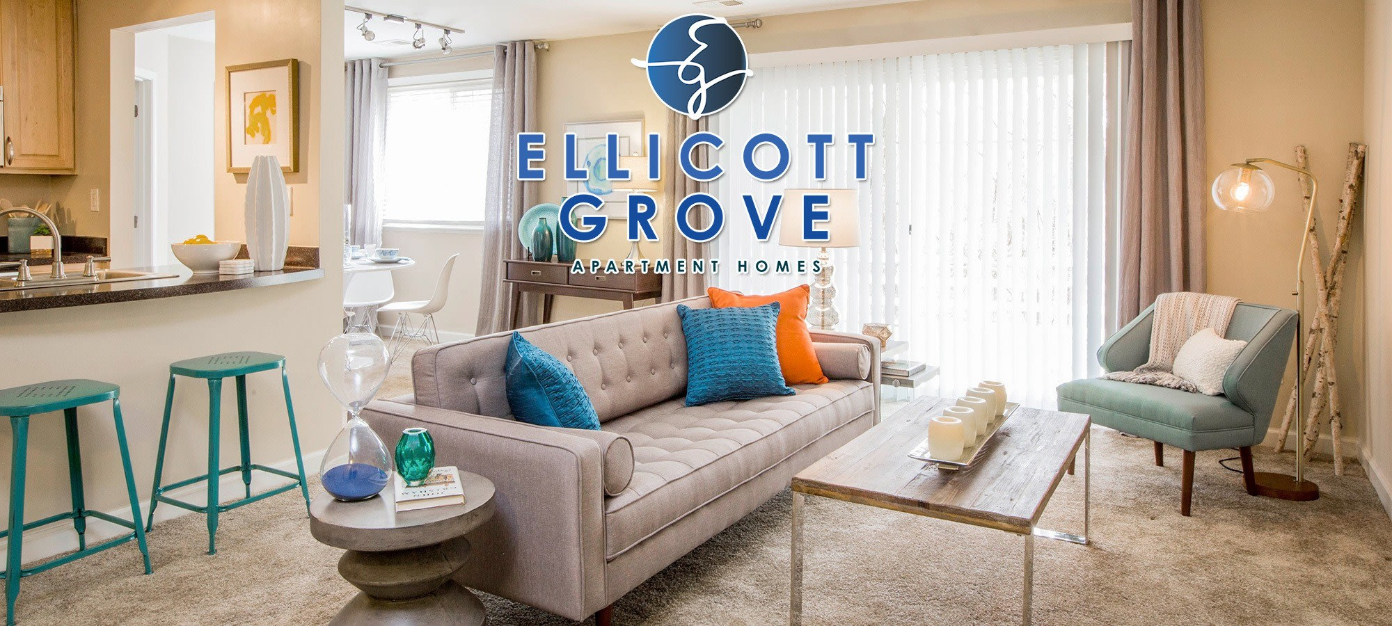 Apartments in Ellicott Grove.
