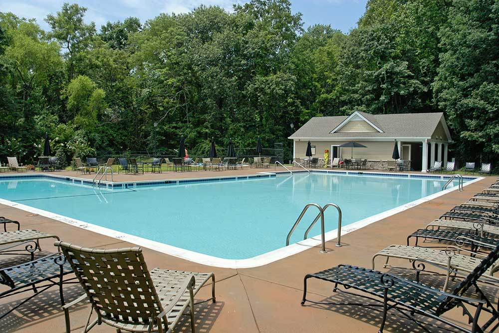 Take a dip in the pool at Ellicott Grove.