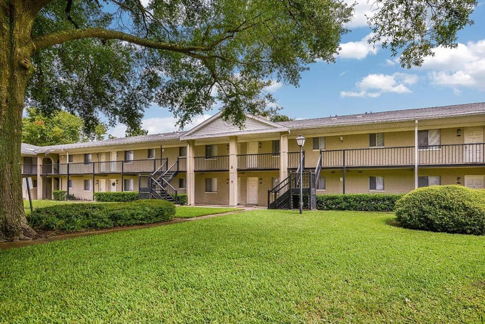 Large Grassy Areas at Townsend Apartments in Jacksonville, Florida