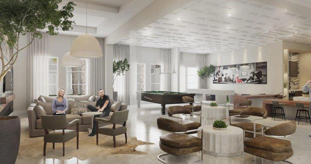 Lounge at 50 Paramount